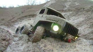 Download RC URAL 4320 IN MUD! INCREDIBLE RC OUTDOOR ACTION! COOL HANDMADE VEHICLES Video