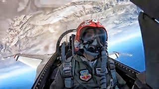 Download USAF Thunderbird Pilot MACE • Cockpit View G Force Runs Video