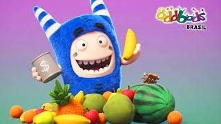Download Oddbods | FIASCO DA COMIDA 4 | Desenho Animado Divertido Para Crianças Video