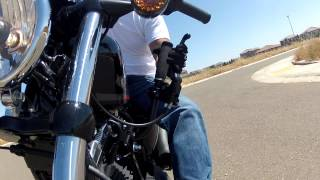 Download Harley Davidson Sportster 48 learning jockey shift / suicide shift nightster and iron 883 Video