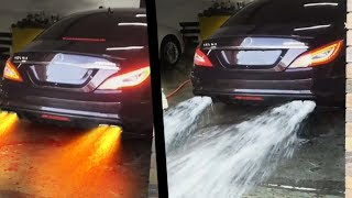 Download CARS Spitting WATER and FLAMES!! UNBELIEVABLE ! Video