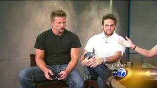 Download Brandon, Steve, Bradford & Scott Promote Port Chuck on ABC7 News Chicago Video
