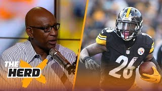Download Eric Dickerson on Le'Veon Bell wanting to be paid like #1 RB and #2 WR, Rams QB situation | THE HERD Video
