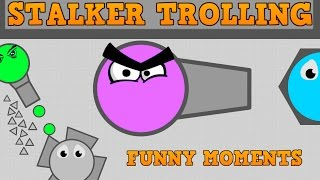Download DIEP.IO STALKER TROLLING AND FUNNY MOMENTS!! // Ranger VS Fallen Overlord // Sniping Gameplay!! Video