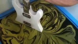 Download SWIRLING(Yellow & Black Custom Guitar) Video