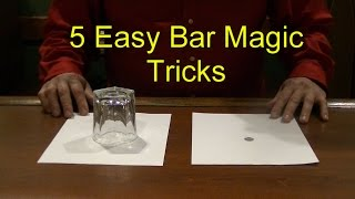 Download 5 Easy Bar Magic Tricks Epic Cool Simple Magic Trick Video
