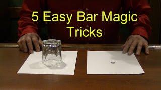 Download 5 Easy Bar Magic Tricks Epic Cool Simple Magic Trick Video
