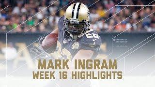 Download Mark Ingram's Powerful 2 TD Day! | Buccaneers vs. Saints | NFL Week 16 Player Highlights Video