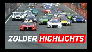 Download SHORT Highlights - Main Race - Zolder - Blancpain GT Series Sprint Cup 2017 Video