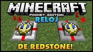Download RELOJ DE REDSTONE! - SUPER UTIL! - Tutorial! - Minecraft PE 1.1.4 (Pocket Edition) Video