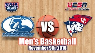 Download University of the Cumberlands - Men's Basketball vs. Ohio Christian University 2016-2017 Video