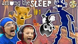 Download AMONG THE SLEEP! My Teddy Bear is ALIVE! FGTEEV Tired Chase & Duddy Video