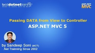 Download MVC   Passing DATA from Controller to View Video