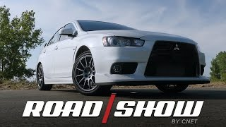 Download Mitsubishi saves the best Lancer Evolution for last Video