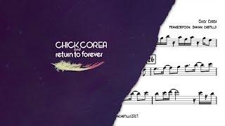 Download ″Spain″ - Chick Corea - 🎷Sax alto transcription 🎷 Video