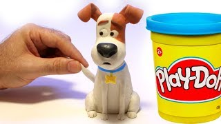 Download Max from The secret life of pets movie Stop motion play doh clay cartoon Video