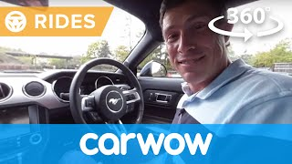 Download Ford Mustang V8 Sports Car 2017 360 degree test drive   Passenger Rides Video