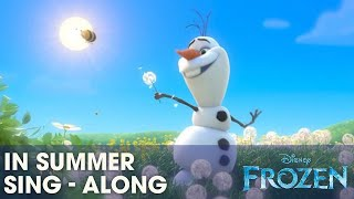 Download Frozen ″In Summer″ Song - Sing-a-long with Olaf - Official | HD Video