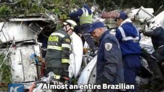 Download 71 dead in Colombia plane crash Video