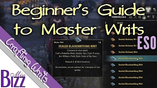 Download Beginner's Guide to Master Writs in Elder Scrolls Online - ESO Master Crafting Writs Video
