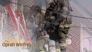 Download An Emotional Thank You Leaves These Firefighters in Tears | The Oprah Winfrey Show | OWN Video