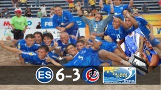 Download El Salvador : Campeón de CONCACAF : [2009/Futbol Playa] Video
