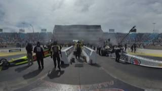 Download NHRA Starting Line 360: Top Fuel Final J.R. Todd v. Antron Brown in Chicago Video