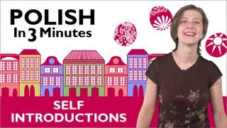 Download Learn to Speak Polish Lesson 1 - How to Introduce Yourself in Polish Video
