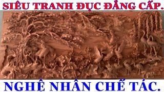 Download Sắp Xong Siêu Phẩm Tranh Cửu Hạc Gỗ Hương. #Tranh cửu hạc đồ gỗ thành luân Video