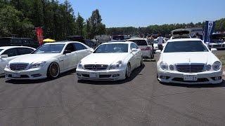 Download メルセデス軍団様 Mercedes-Benz E-Class W211型  CLS-Class C219型  S-Class W221型 Video