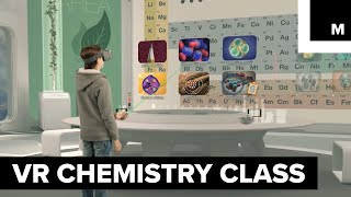 Download VR chemistry class Video