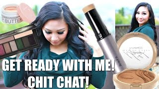 Download GET READY WITH ME! New Benefits Cosmetics Play Sticks, MAC Mariah Carey, Smashbox Palette, Korres Video