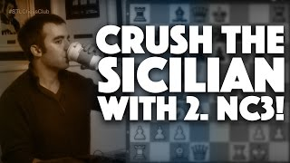 Download Crush the Sicilian with 2.Nc3 | Games to Know by Heart - IM Eric Rosen Video