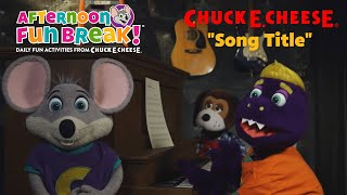 Download Song Title | Chuck E. Cheese Songs Video