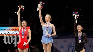 Download Chen, Nagasu, Tennell: Get to know the U.S. Olympic women's figure skaters Video
