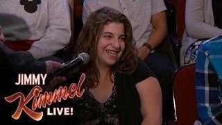 Download Behind the Scenes with Jimmy Kimmel and Audience (Classifieds Lady) Video