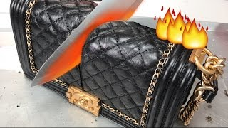 Download Glowing 1000 DEGREE KNIFE VS. CHANEL BAG + MAKEUP Video