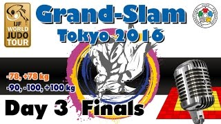 Download Judo Grand-Slam Tokyo 2016: Day 3 - Final Block Video