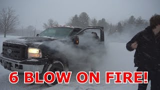 Download 6.0 CATCHES ON FIRE DRIFTING! Video