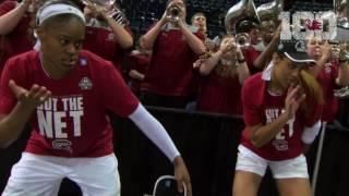 Download Kaela Davis, A'ja Wilson Celebrate With the Band — 3/27/17 Video