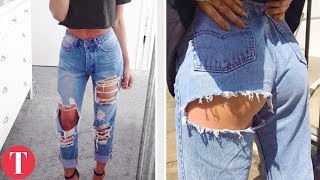 Download 10 Guy Fashion Trends That Look BETTER On Girls Video