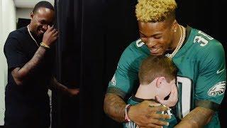Download Alshon Jeffery & Corey Clement Surprise Eagles Fans at NFL Draft Party Video