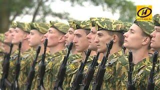 Download Более 1200 новобранцев внутренних войск МВД Беларуси приняли присягу Video