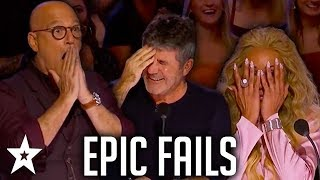 Download Simon Cowell's EPIC FAILS on AGT & BGT | Got Talent Global Video