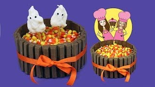 Download Kit-Kat Halloween cake or thanksgiving - how to Tutorial by Charli's crafty kitchen Video