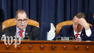 Download WATCH LIVE | Trump impeachment inquiry: House Judiciary Committee votes on articles of impeachment Video
