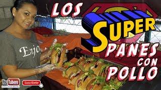 Download [YOUTUBERO] Como son los super panes con Pollo - El salvador Video