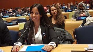 Download Evelina Cabrera, de dormir en la calle a hablar en la ONU Video