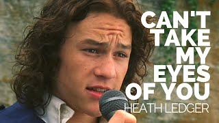 Download Heath Ledger Sings ″can't take my eyes off you″. Video