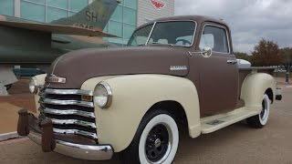 Download 1949 Chevrolet 3100 Series Thriftmaster Pickup Truck Video
